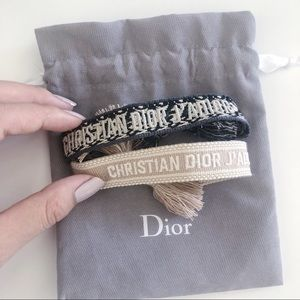 Dior Woven Bracelets